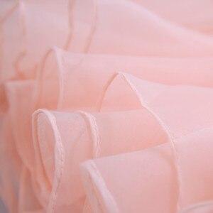 Image 5 - Robe de soiree pink & red elegant U neck evening dress lace with Appliques Formal vestido de festa Party Prom Dresses