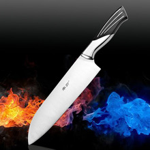 Kitchen Knives Cooking Tools Stainless steel  4cr13 slicing knife  sushi  cutting tool  bread gift chef knife Free Shipping