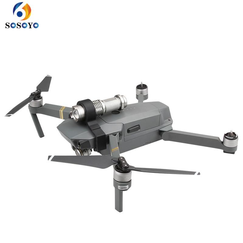 Prix pour Drone vol De Nuit lumières LED Lumière 3 Modes photographie De Rechange pièces pour DJI Mavic PRO caméra accessoires