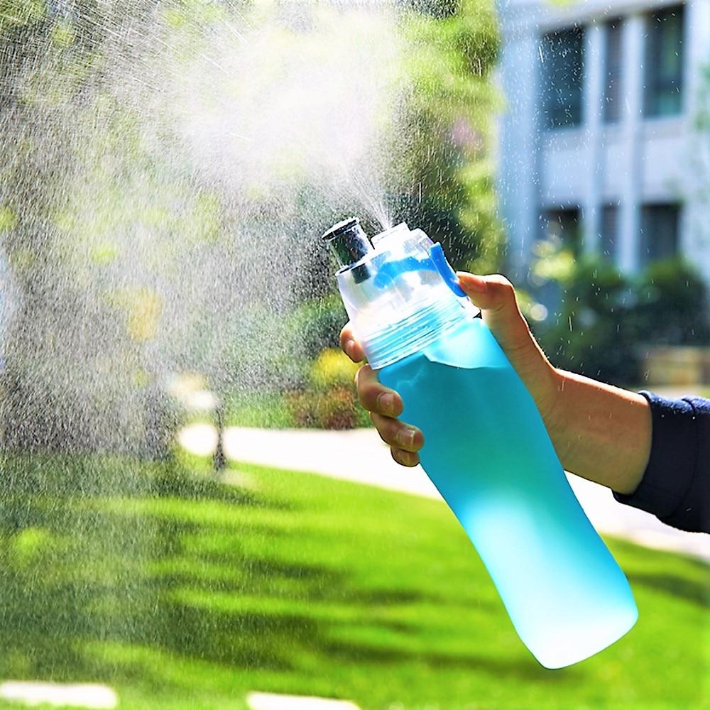 740 ML Mi helado Mi botella de Aerosol de la Botella de Agua de plástico deporte