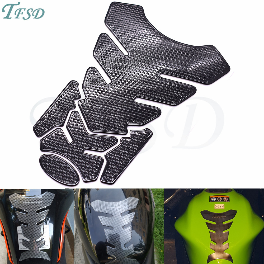 Motorcycle Sticker Gas Fuel Oil Tank Pad Protector Decal For BMW K1600 K1300 K1200R K1200S R1200RT <font><b>R1200ST</b></font> R1200GS HP2 image