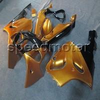 Schrauben + aftermarket ABS cowling GOLD motorrad verkleidung für Kawasaki Ninja ZX7R 1996 1997 1998 1999 2000 2001 2002 2003