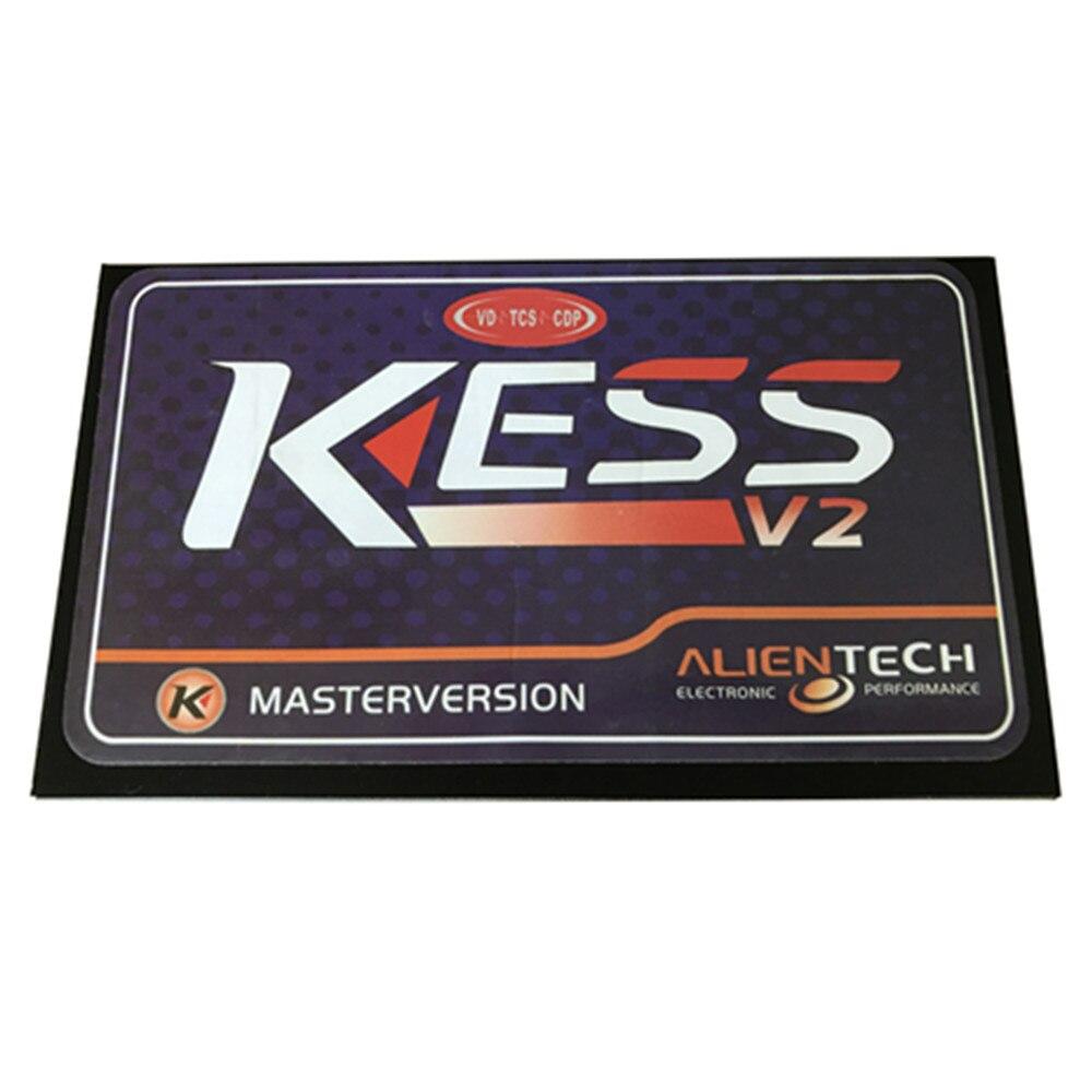 Цена за 2015 Новое Прибытие KESS V2 2.23 Мастер Нет Маркер Чтение Ограниченным версия Прошивки V4.036 KESS V2 V2.23 Основной Блок С Бесплатной Доставкой