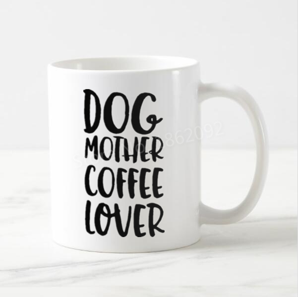 11oz Ceramic Coffee Tea Mug Glass Cup Mother Of Dogs