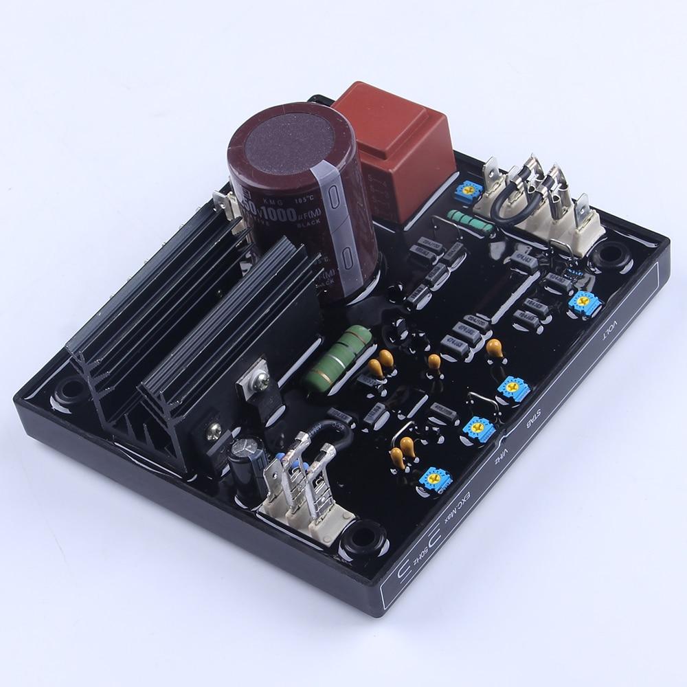 genuine avr r438 stabilizer ac automatic voltage controller regulator 3phase adjustable current controller for diesel generator [ 1000 x 1000 Pixel ]