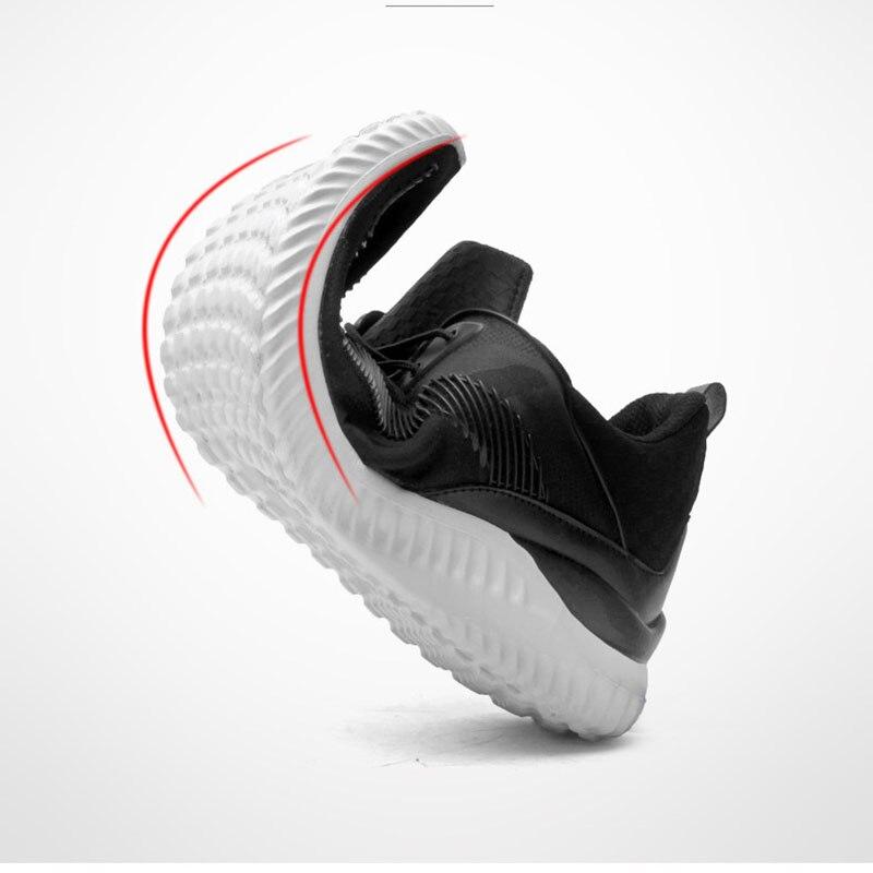 Chaussures Respirant Nouvel Plein Mode bleu Étudiant gris En Maille Air Sneakers Trekking De Hommes Casual Mâle Pour Noir 2018 pqqR1