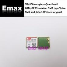 Бесплатная доставка 10 шт./лот SIM800 полный четырехдиапазонный GSM/GPRS решение SMT Тип голосовые SMS и данные 100% Новый оригинальный склад JINYUSHI