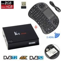 Original KII Pro Smart Android 5 1 TV Box DVB T2 DVB S2 Amlogic S905 4K