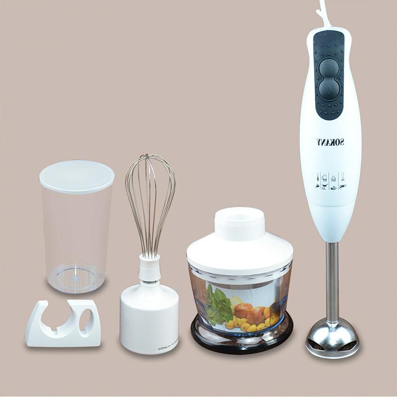Baby Food Maker Hand for Electric Food Milkshake Mixer Baby Food Fruit Juice Maker Multifunction Meat Grinder Egg Stir Gadget