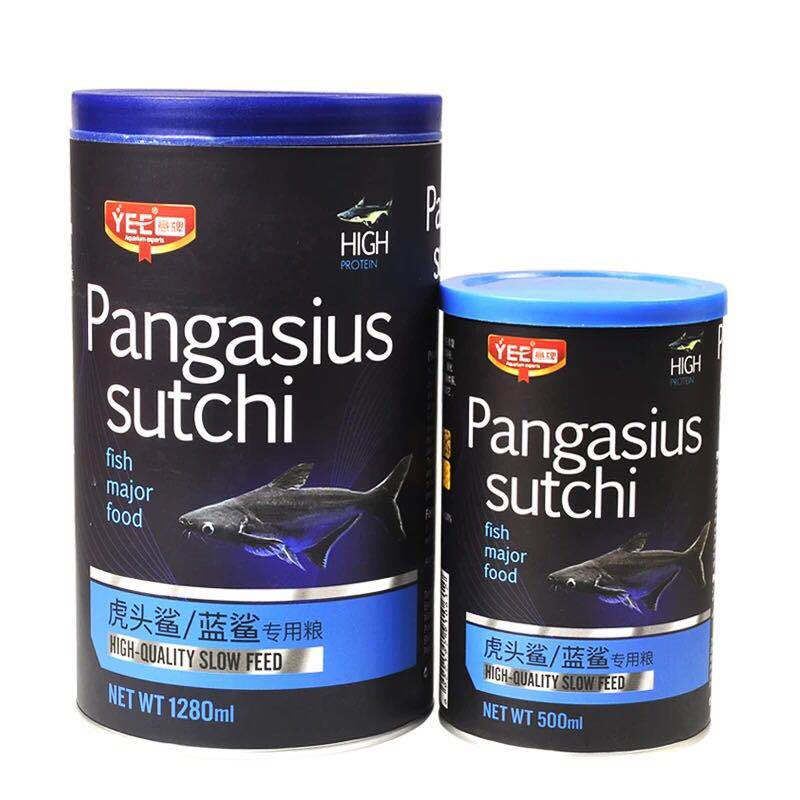 Blue Shark Pangasius Sutchi Fish Food Sink Slowly Bottom Feed Aquarium Big Fish Food image