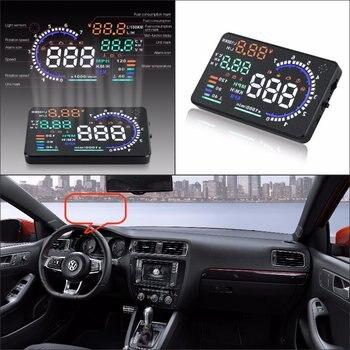 For Volkswagen VW Golf/GTI/Jetta 2010-2019 Car OBD HUD Head Up Display Driving Screen Projector - Reflecting