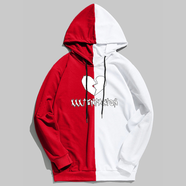 Women's Broken Heart Print Yoga / Gym  Sweater  5 Colors S-XXL