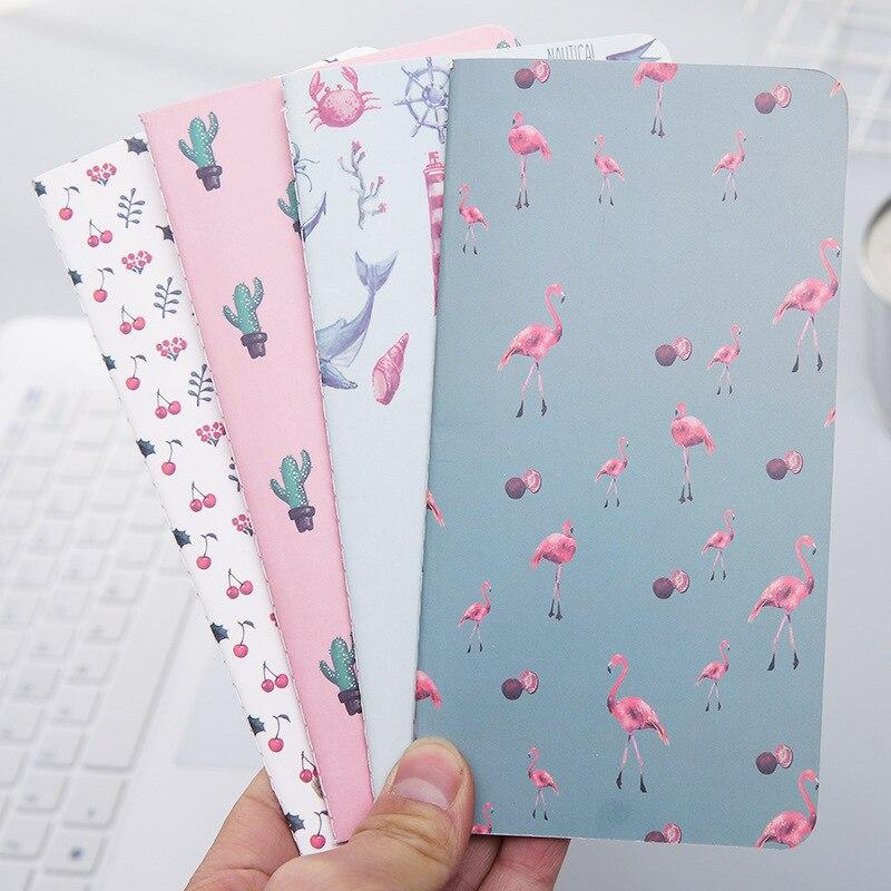 1 pçs 24 folhas cactus flamingo cherry week planejador caderno para fazer lista notebooks bloco de notas material escolar