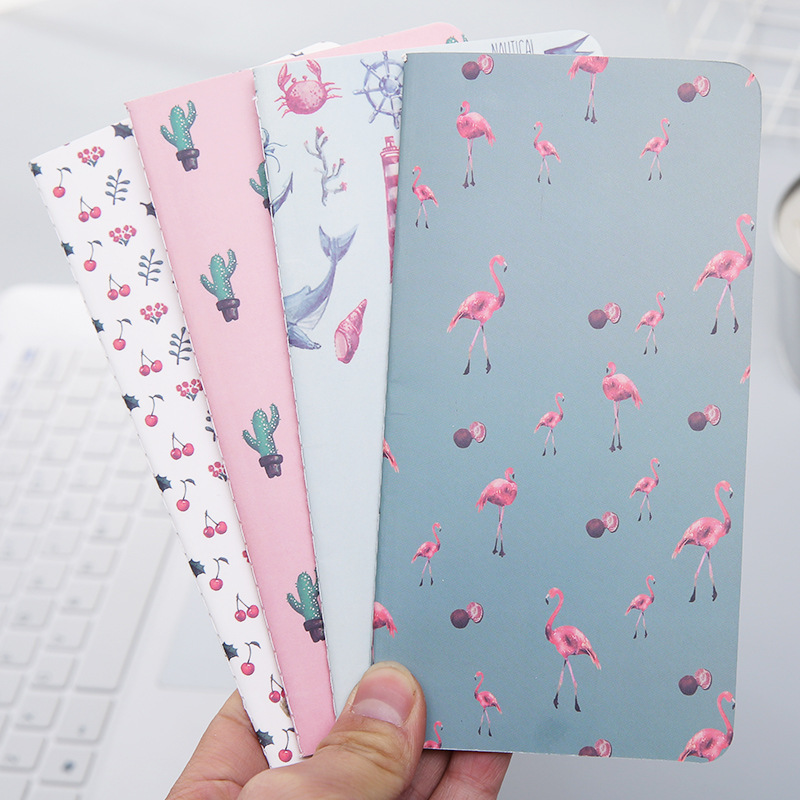 1pcs 24 Sheets Cactus Flamingo Cherry Week Planner Notebook To Do List Notebooks Memo Pad School Supplies