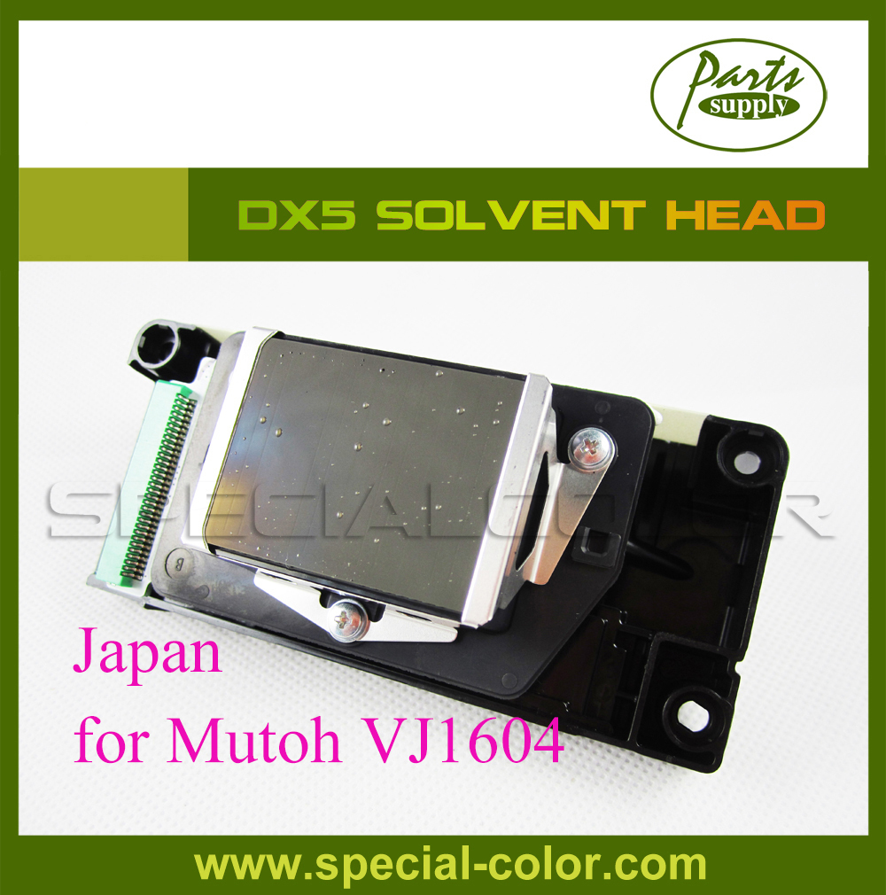 Original Dx5 printhead DF-49684 for Mutoh VJ1604 DX5 Solvent Print Head (made in Japan) dx5 eco solvent print head printhead for mutoh 1304 printers