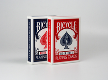 Bicycle 808 Bridge Standard Index Playing Cards, Bridge Poker Cards Blue or Red Deck