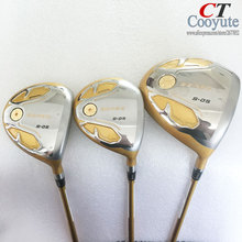 Cooyute New Golf Clubs HONMA S-05 4Star Golf wood Set driver+Fairway Woods Graphite Golf shaft  wood headcover Free shipping
