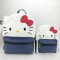 Cute Cartoon My Melody Hello Kitty Cinnamoroll Dog Plush Backpack Large Shoulder Bag Handbag For Girls/Women/Children Gifts