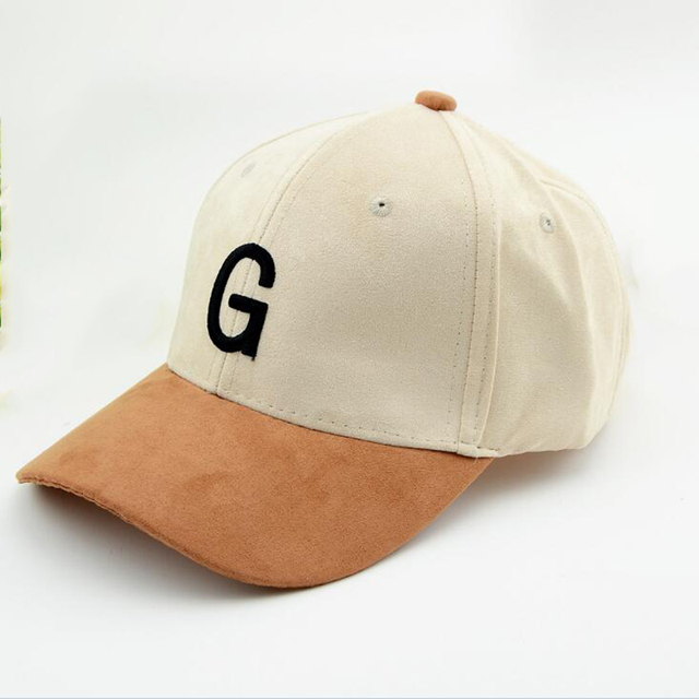09667891153 Unisex Suede Baseball Cap With Embroidery Letter G Curved Brim Snapback Hat  Hip Hop Caps Fashion Velvet Hats For Men And Women