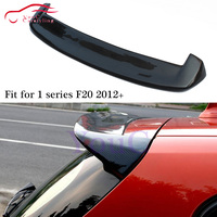 3D Style Carbon Fiber Rear Spoiler Wing for BMW 1 Series F20 2012 present 5 door Hatchback Rear Trunk Boot Lip