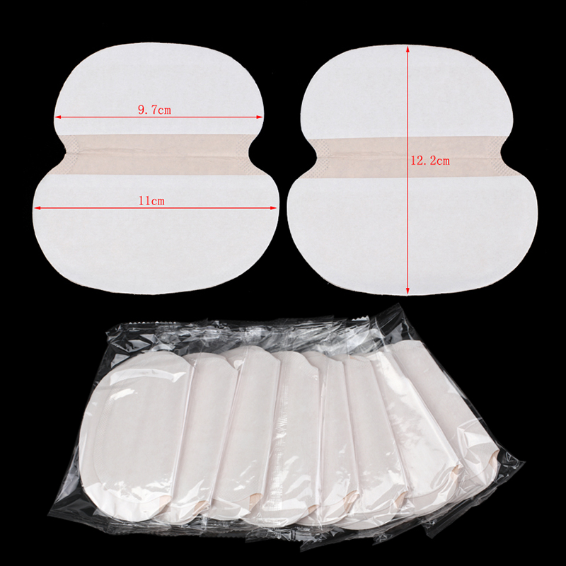 20/30/50Pcs Big Size Underarm Sweat Pads Armpits Anti Gasket Sweat Absorbing Sticker Disposable Deodorant Armpits Linings Pads