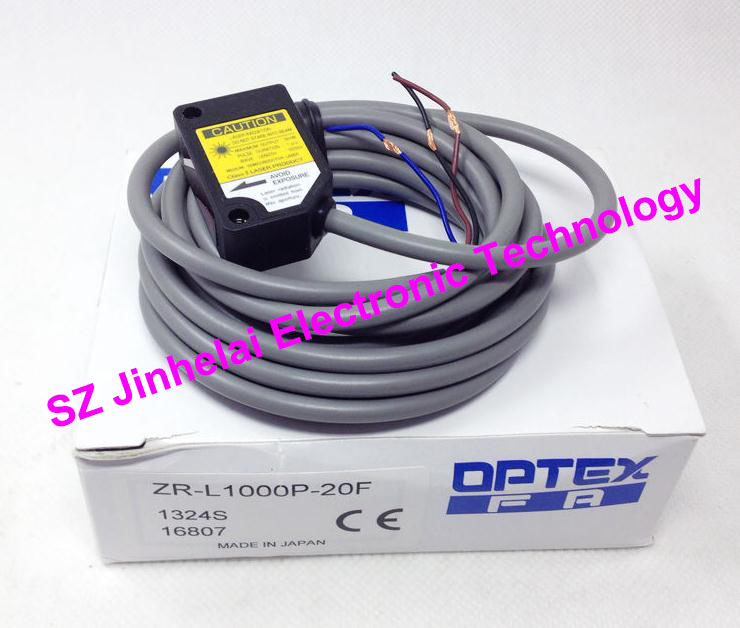 New and original  ZR-L1000P-20F  OPTEX   Laser sensor, Photoelectric switch  PNP output new and original zr 350n optex photoelectric switch photoelectric sensor