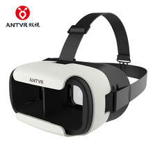 ANTVR VR BOX LOOP mini Glasses Virtual Reality goggles 3D glasses google Cardboard antvr vr headset For 5.0-6.0 smartphone(China)