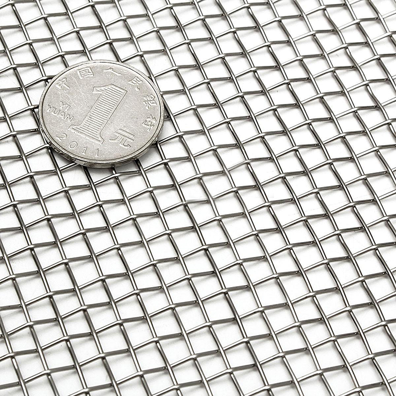 1pc 6x12 Woven Wire Mesh Sheet Stainless Steel Woven Cloth Screen
