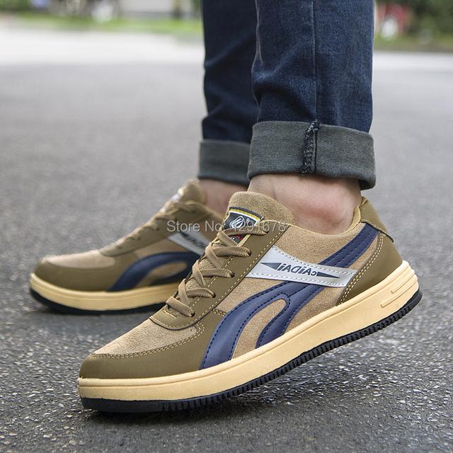 Envío gratis Primavera y otoño de LA PU Zapatos de Los Hombres Británicos zapatos casuales