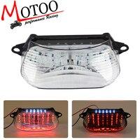 Motoo free shipping Motorcycle LED Tail Brake Turn Signal Integrated Light for HONDA VTR1000 1997 2005
