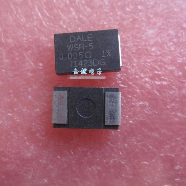 Original new 100% import WSR55L000FEA patch high power resistance 4527 DALEWSR-5 0.005R 5 millieu 1% 5W (Inductor)