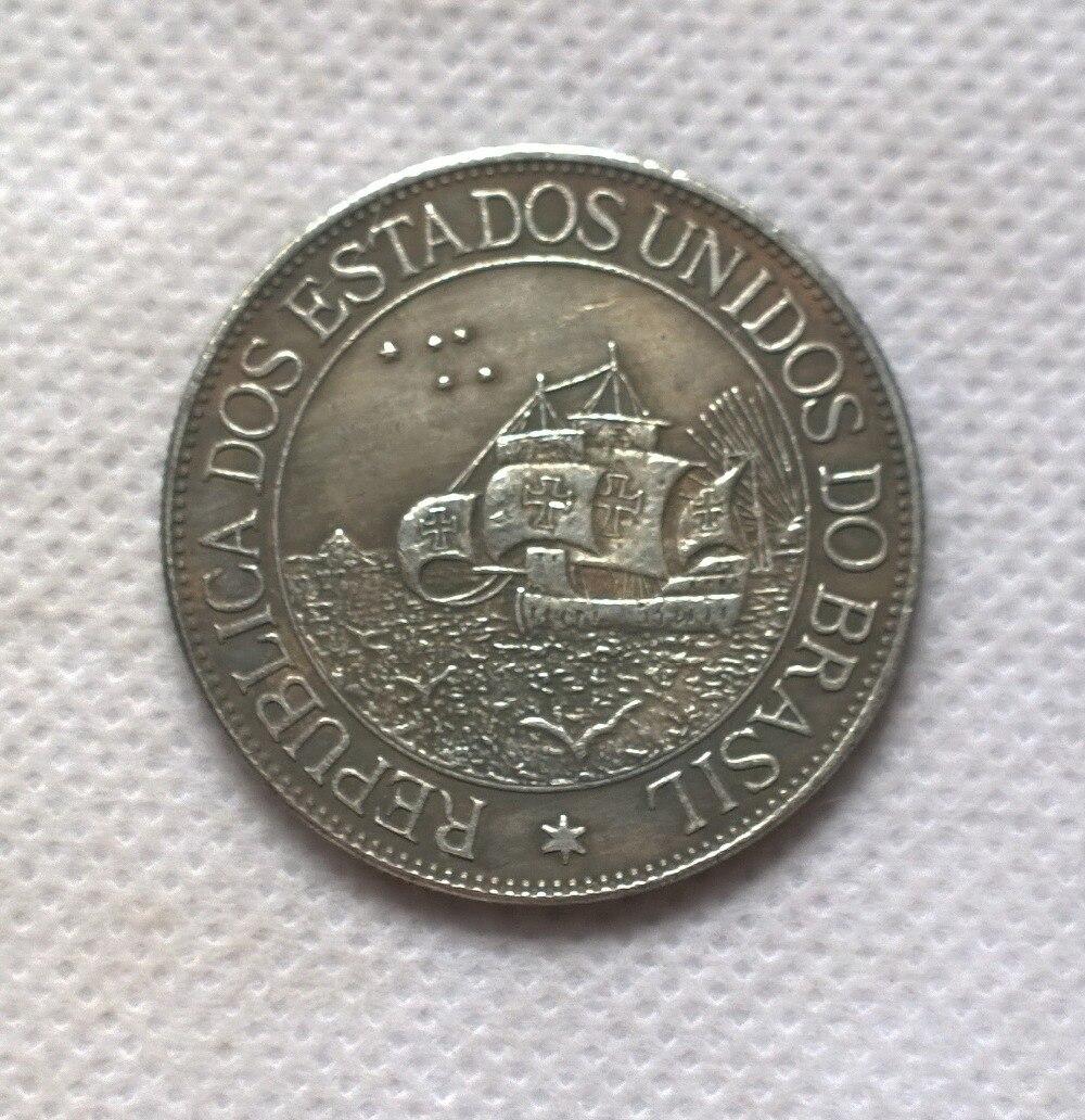 1900 БРАЗИЛИЯ 2000 Reis Монеты Скопируйте Бесплатная доставка