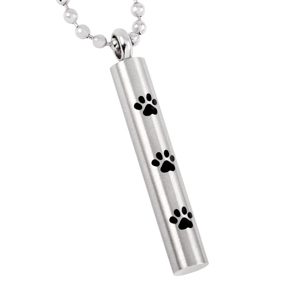 Long Paw Urn Necklace