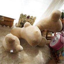 Fancytrader 96cm Big Emulational Ginger Pillow Toy Stuffed Plush Cute Ginger Cushion Doll