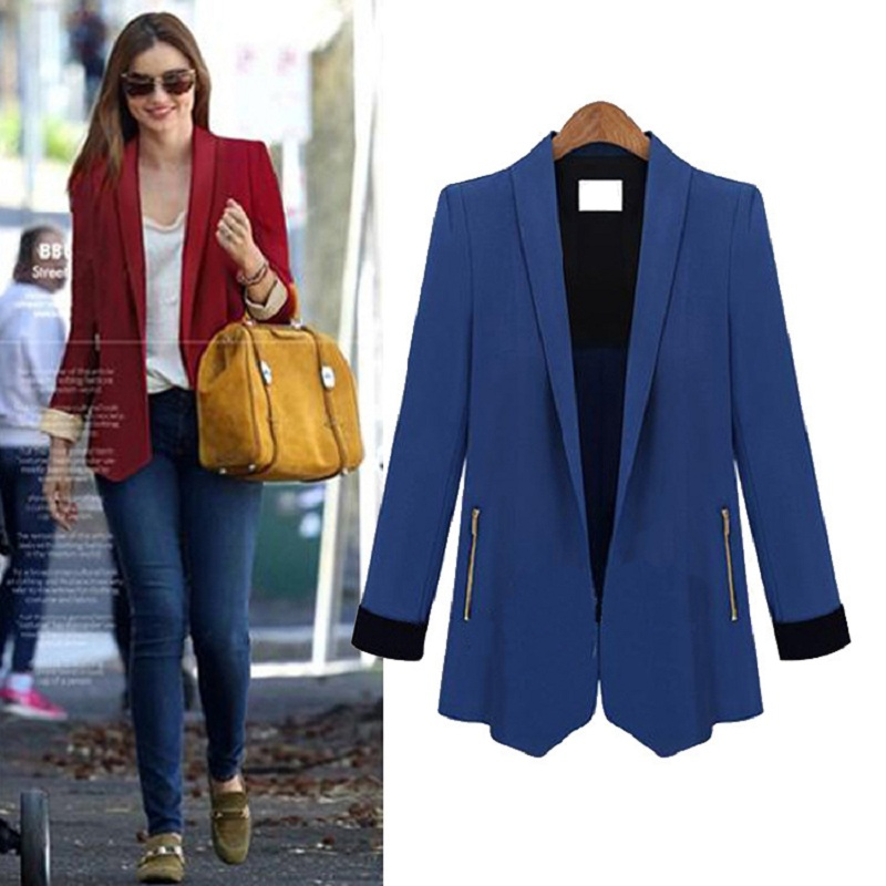 Long Blue Blazer