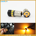 1156 BAU15S PY21W P21W 1157 P21/5W 5730 LED Amber Yellow Turn Signal Light Projector Lens car Light styling