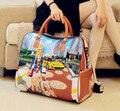 2016 venda quente dos desenhos animados das mulheres de marcas famosas saco mulheres bagagem sacos de viagem saco grande para as mulheres espanha bolsos ZL99