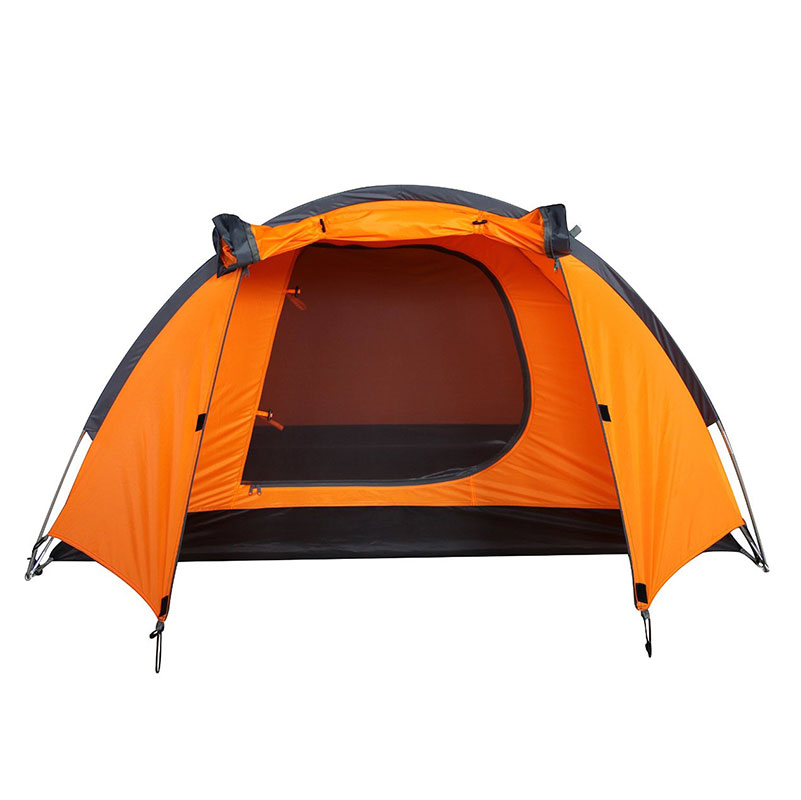 Waterproof Durable 2 3 person Outdoor Camping Tent Hiking Beach Tent Tourist Bedroom Travel Lightweight 2016
