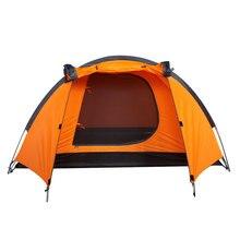 Imperméable à l'eau Durable 2 3 personne Camping En Plein Air Tente Randonnée Tente De Plage Touristique Chambre Voyage Léger 2016 chine barraca ont tendance