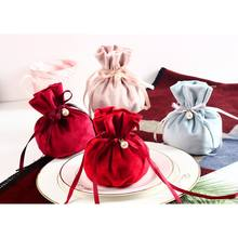 Velvet Women Coin Purse Small Mini Bag Wallet Girl Little Bag for Ladies Small Pouch Kawaii Children Wallet(China)