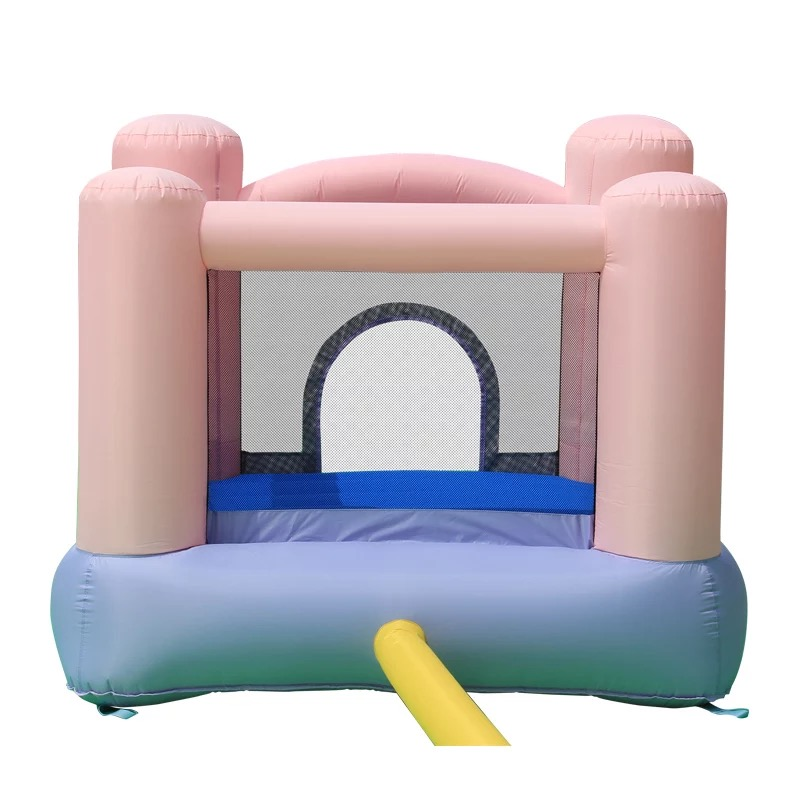 HTB15HUlPXXXXXbbXVXXq6xXFXXXT - Mr. Fun Kids Pink Inflatable Bouncer Home Trampoline with Blower