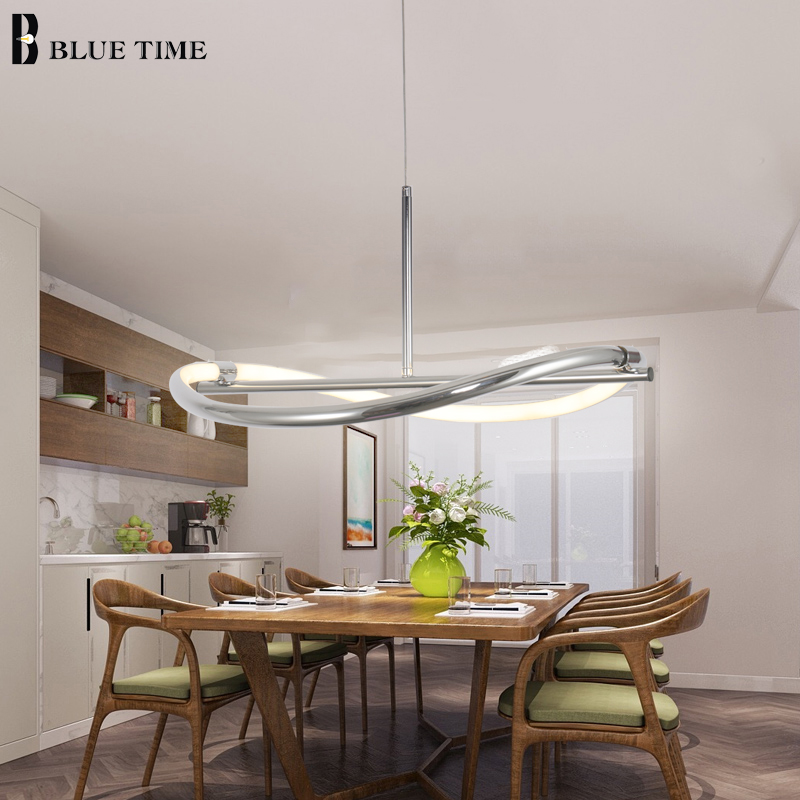 Blue Time New Minimalistic Modern Pendant Light For Living Room Dinning Room Indoor Lamp Hanging Lamp Fixtures D550mm AC90-260V