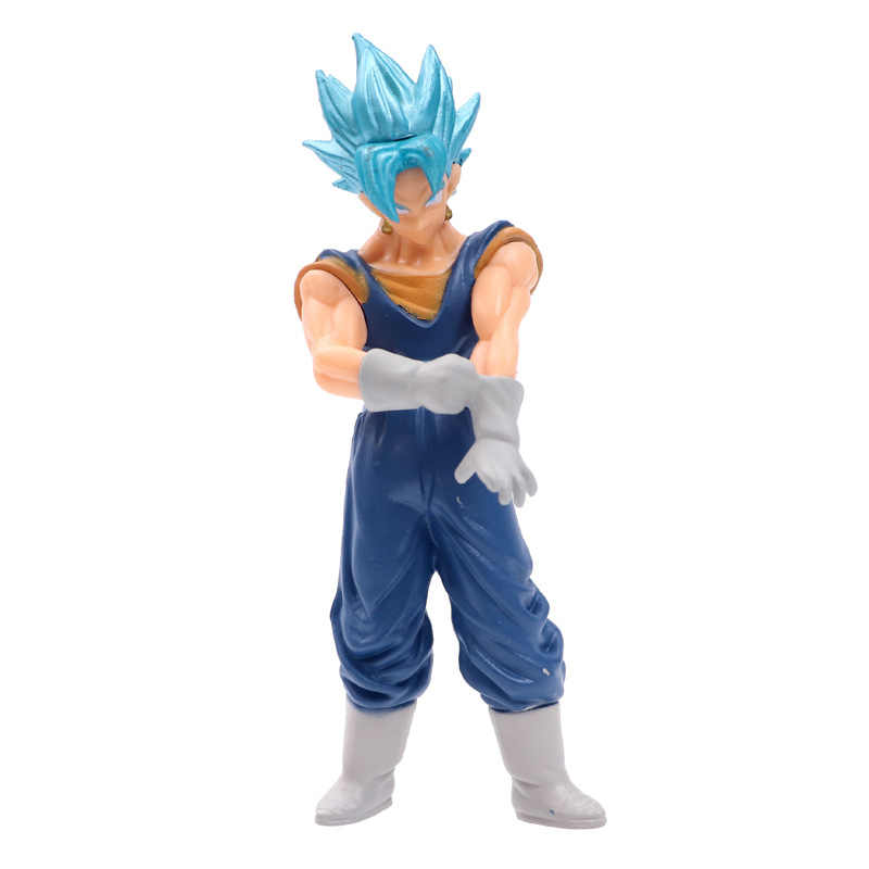 6 pçs/lote 14 cm Anime Dragon Ball Z DBZ Goku Action Figure Toy Zamasu Mai PVC Modelo Coleção de Bonecas Para caçoa O Presente Frete Grátis