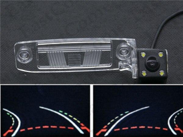 Carro Dinâmico Faixas Trajetória Câmara de visão Traseira Para Kia Sportage R 2011 2012 2013 2014 Kia Sportage SL K3 2012 carro À Prova D' Água