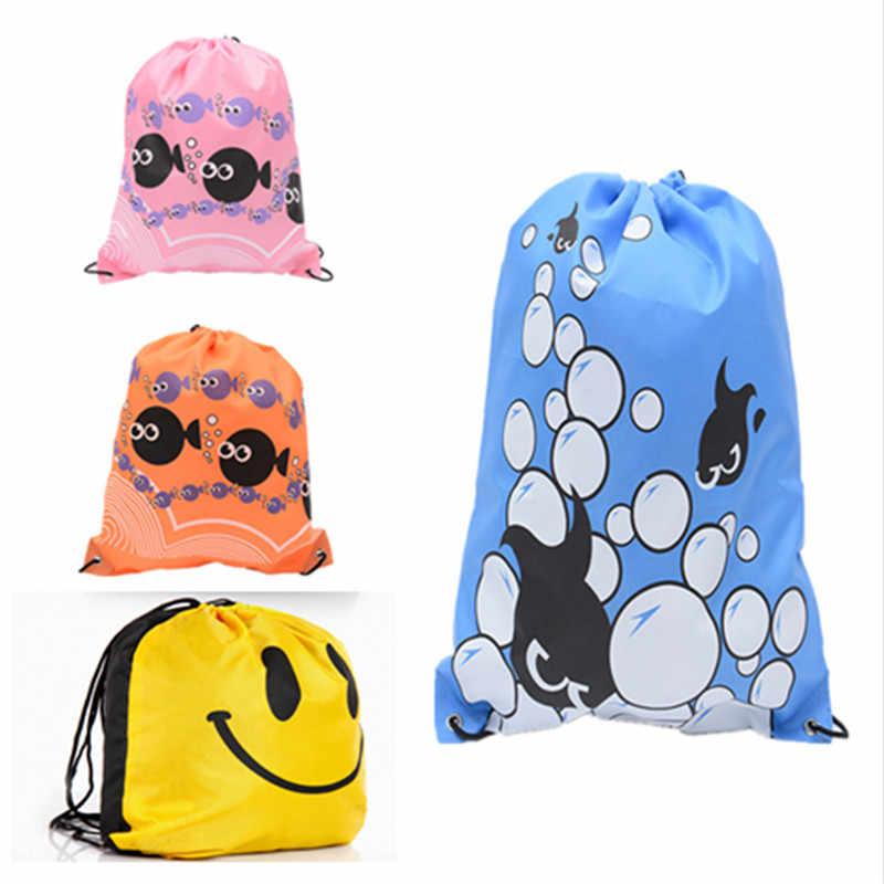 Водонепроницаемый рюкзак для путешествий из полиэстера на шнурке, сумка для обуви, футбольные игрушки, сумка для хранения, органайзер, сумка для уборки, быстрая доставка