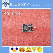 3pin KEYES KY-018 оптическая гигрорегулируемый сопротивление обнаружения светочувствительный датчик модуль для комплекта Arduino DIY KY018