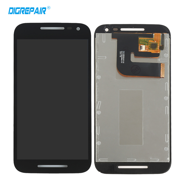 Black for Motorola Moto G 3rd Gen 2015 G3 LCD Display Touch Screen Digitizer Assambly Replacement,Free shipping+Tracking NO.