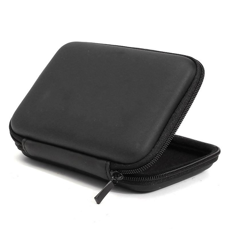 цена на EVA Hard Disk Case Bag Hard Drive Zipper Carry Protector Case Cover Bag Protection Shell For 2.5 Inch Cable HDD Hard Disk Drive