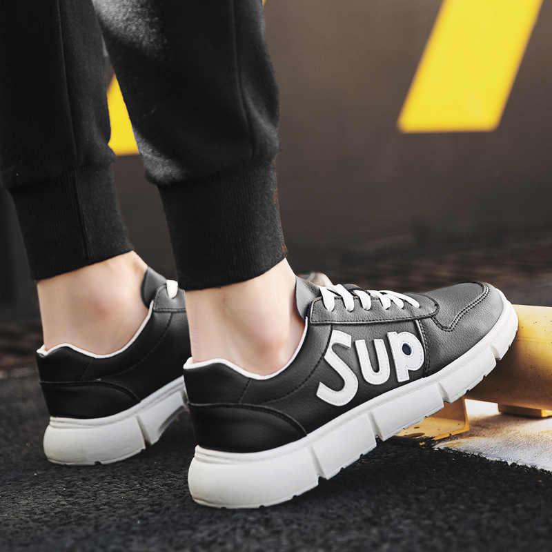 Nova Vindo Dos Homens Das Sapatilhas Sapatos de Skate Roshing Corredor Fora De Treinamento Respirável Sapatos Ao Ar Livre Cor Branco Tamanho Máximo 44