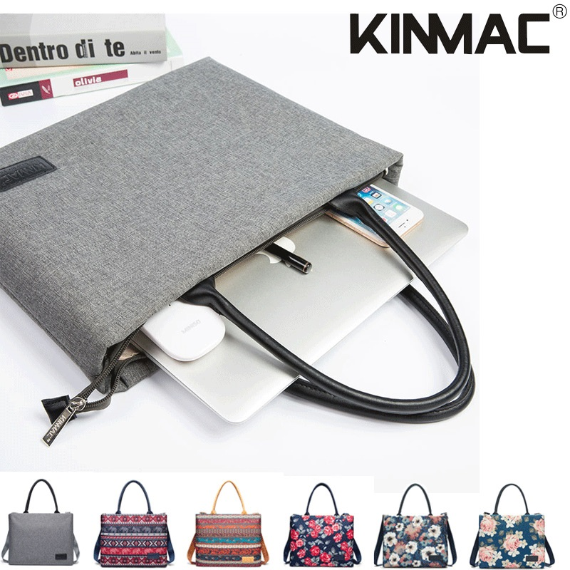 New Fashion Shoulder Waterproof Simple Business 13.3 Inch 14 Inch 15.6 Inch Female Women Girls Hand-held Shoulder Laptop Bag